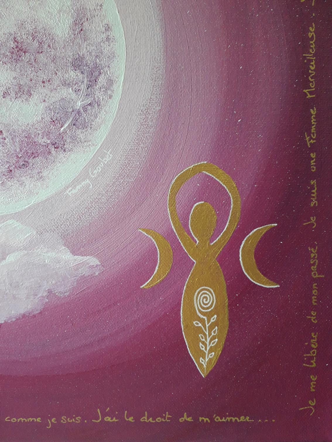 peinture energetique liberation lunaire fanny goubet