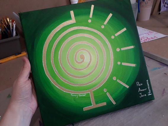 peinture vibratoire PAJH