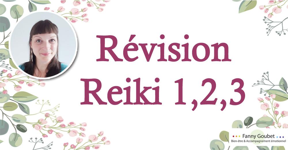 revision Reiki 1-2-3 fanny goubet
